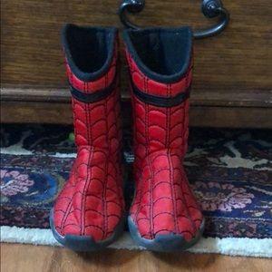 Boys Marvel Spider-Man Boots